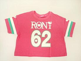 ロニィ RONI 天竺ショート丈ルーズ半袖Tシャツ 半袖 Tシャツ 125 135 145 155cm
