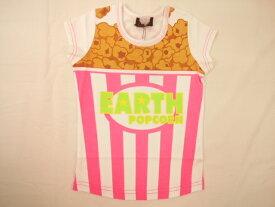 【さらに値下げしました!!】【セール】EARTHMAGIC(アースマジック)★【再入荷しました!!】キュートなポップコーンプリントの半袖Tシャツ