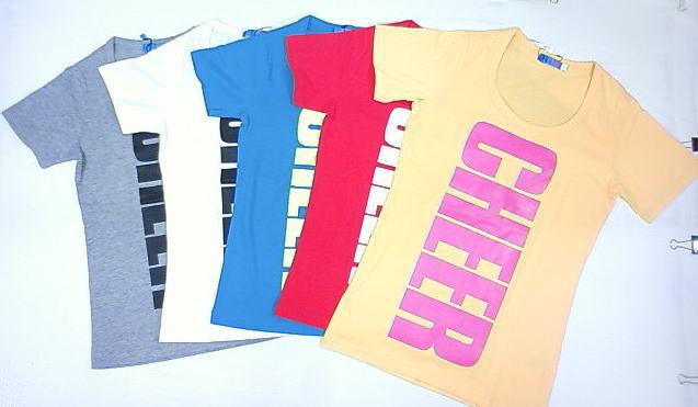 ☆再値下げ☆セール☆CHEEREXTREME(チアーエクストリーム)★新鮮キュートなタテロゴTシャツ