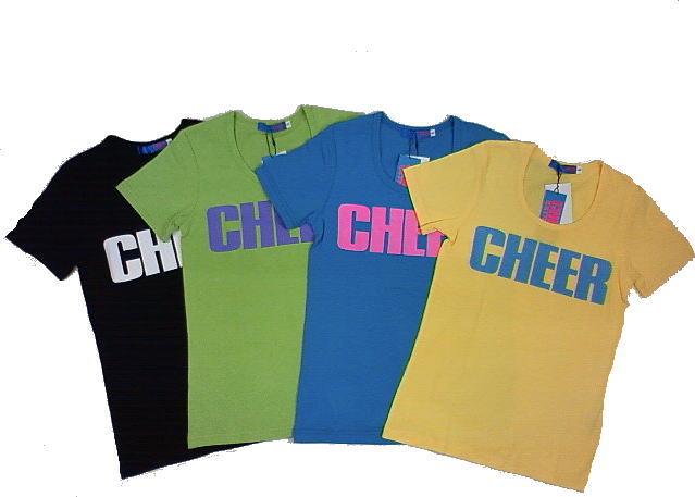 ☆セール☆CHEEREXTREME(チアーエクストリーム)★定番ロゴベーシック半袖レギュラーTシャツ