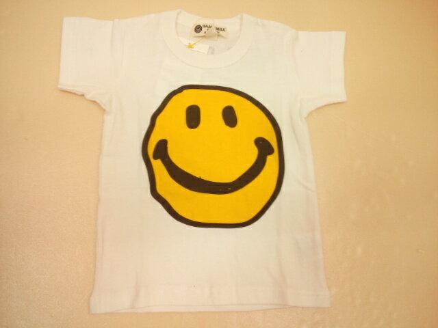 BAJA(バハ)★落書きスマイル半袖Tシャツ 半袖 ニコちゃん