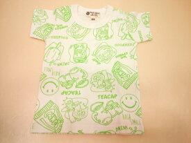 BAJA(バハ)★スイーツ柄&スマイル総柄の半袖Tシャツ