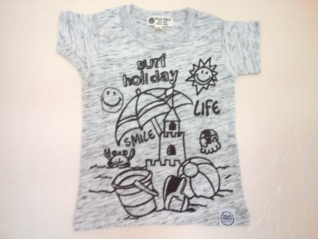 BAJA(バハ)★サマーホリディスマイル半袖Tシャツ