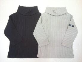 セール b-ROOM(ビールーム)テレコタートルネック長袖Tシャツ