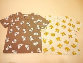 セール b-ROOM(ビールーム)アニマル総柄の半袖Tシャツ