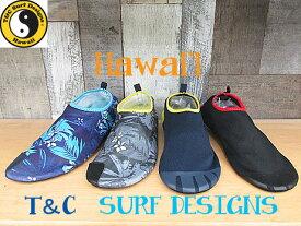 【T&C SURF DESIGNS】TCM メンズ BLACK NAVY/YELLOW GRAY BLUEウォーターシューズキャンプ アウトドア 海 山 川 夏休みマリンシューズ アクアシューズ