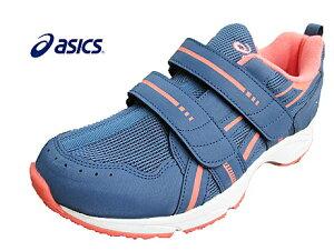 【靴下プレゼント】asics アシックス GELRUNNER GIRL-Jr.TKJ129-402 スモークネイビー×ピンク キッズ ジュニア 女の子靴 スニーカー ランニングシューズ 2本ベルト