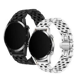 Huawei Watch GT2 Pro 用 交換バンド 時計バンド上質ステンレス ベルトファーウェイウォッチ GT2 プロ 22mm メタル 交換リストバンド 時計バンド