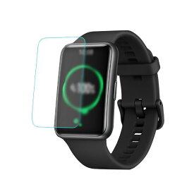 Huawei Watch Fit ガラスフィルム PET 液晶保護フィルム/保護シート/衝撃吸収フィルム ファーウェイウォッチ フィット 用 液晶シールド