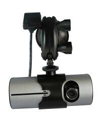 ドライブレコーダーデュアルレンズ多機能広角レンズ、GPSロガー衝撃感応g160