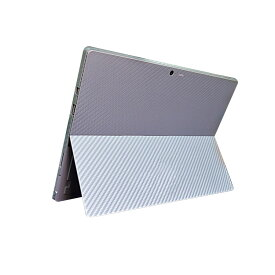 Microsoft Surface Pro 4 カーボン調 バックフィルム SurfacePro4 背面 保護フィルム サーフェスプロ プロテクトフィルム おすすめ 人気 タブレット 保護シール