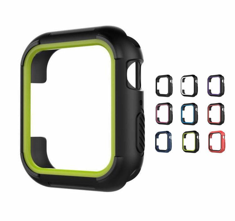 Apple Watch Series4 ケース/カバー 耐衝撃 シリコン ケース/カバー 40mm用 シンプルでおしゃれなアップルウォッチ シリーズ 4 用カバー