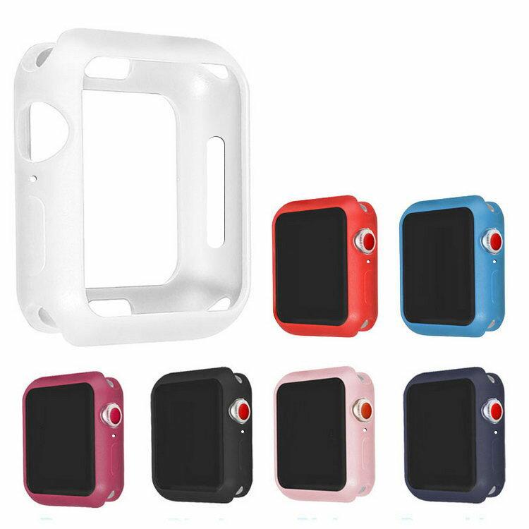 Apple Watch Series4 ケース/カバー 耐衝撃 TPU ケース/カバー 44mm用 シンプルでおしゃれなアップルウォッチ シリーズ 4 用カバー