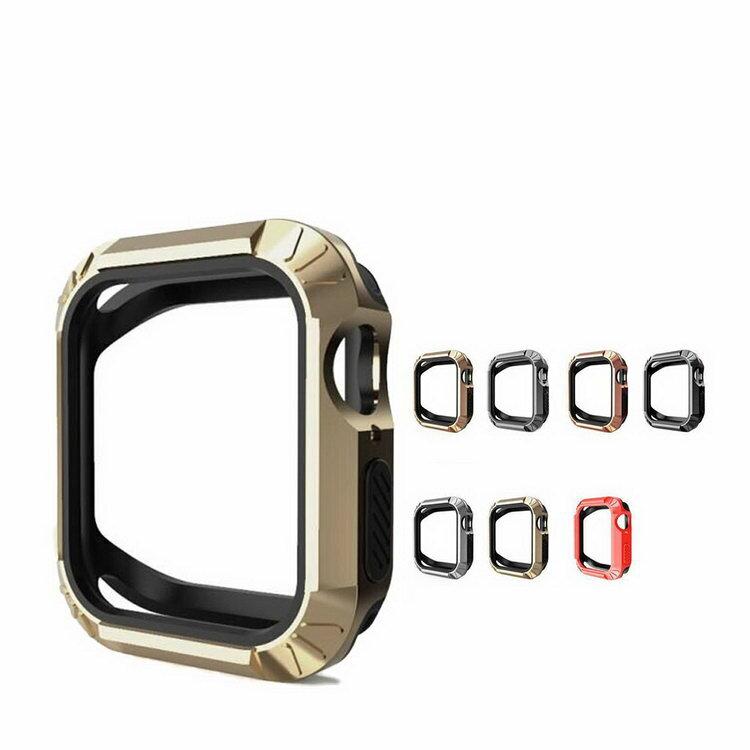Apple Watch Series4 ケース/カバー 耐衝撃 シリコン ケース/カバー 44mm用 シンプルでおしゃれなアップルウォッチ シリーズ 4 用カバー