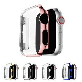 Apple Watch Series 5/4 ケース/カバー PC カバーケース/カバー 40mm用 液晶カバー アップルウォッチ シリーズ4 クリアカバー ハードケース