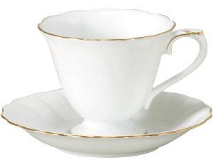 大倉陶園 日本製【大倉陶園 ゴールドライン コーヒーカップ&ソーサー 46C/1001】洋食器 陶磁器 コーヒー ギフト 贈り物 贈答品 引出物 内祝い お祝い