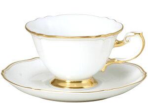 大倉陶園 日本製【大倉陶園 The Okura ホワイトマスターピース カップ&ソーサー 70C/1111】洋食器 陶磁器 コーヒー 紅茶 ギフト 贈り物 贈答品 引出物 内祝い お祝い