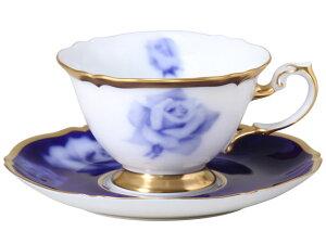 大倉陶園 日本製【大倉陶園 The Okura ホワイトローズ カップ&ソーサー 70C/E089】洋食器 陶磁器 コーヒー 紅茶 ギフト 贈り物 贈答品 引出物 内祝い お祝い 母の日 敬老の日