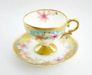 ノリタケ Noritake【和花コレクション ティー・コーヒー碗皿 (楓) T52401/4662-2】洋食器 陶磁器 カップ&ソーサー コーヒー 紅茶 ギフト 贈り物 贈答品 内祝い お祝い 母の日 敬老の日