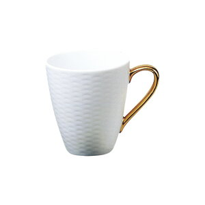 ノリタケ Noritake【ノリタケ アミ Amis マグカップ 金 ゴールド T5355L/1605】シンプルモダン 白 金 洋食器 陶磁器 コーヒー 紅茶 ギフト 贈り物 贈答品 内祝い お祝い