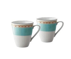 ノリタケ Noritake【ハミングブルー マグカップペア P5355L/1645】洋食器 陶磁器 マグカップ ギフト 贈り物 贈答品 内祝い お祝い