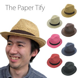 【SALE】【5千円以上送料無料】【2,300円→500円】The Paper Tify(TESTIFY)帽子 レディース ユニセックス ワンコイン ハット メンズ 男性 紳士 父の日 お父さん ギフト プレゼント帽子 男女兼用 メンズ レディース