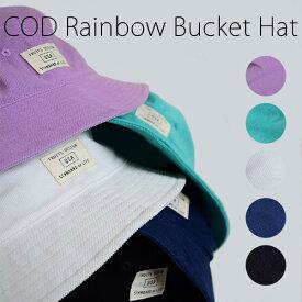 3ba6ec2a339 COD Rainbow Bucketb Hat(TESTIFY)バケットハット ハット フェス アウトドア レジャー 日除け ユニセックス