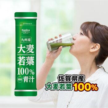 【終売!50%OFF】九州産大麦若葉100%青汁60包