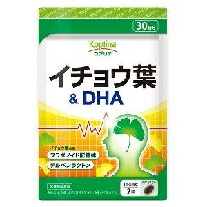 コプリナイチョウ葉&DHA30日分60粒入り