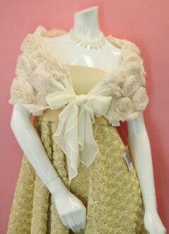 Rose motif ornate shawl ♪ ♪ wedding, wedding party, wedding party fashion color coordination!