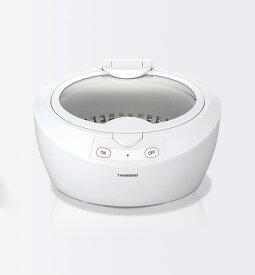 【クーポン配布中※期間限定】【送料無料】ツインバード 超音波洗浄器 EC4518W/EC-4518W ホワイト