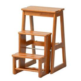 【クーポン配布中※期間限定】【天然木】ステップチェア【3段】/ステップ 台 ステップチェア ステップチェアー 梯子 踏み台 椅子 イス いす チェア チェアー 折り畳み 木製 イス いす 学習椅子 学習チェア 家具 インテリア インテリア雑貨 雑貨