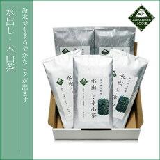 水出し・本山茶【100g×5】
