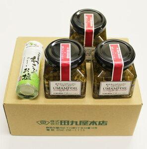 【がんばろう!静岡対象商品】旨味オイル120g×3個・わさび塩20g