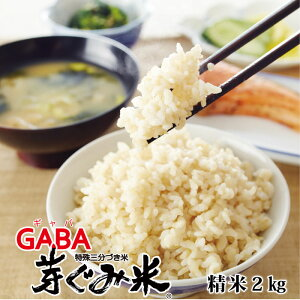 機能性表示食品 GABA 芽ぐみ米 2kg 令和2年産 新米 ロカボ 糖質制限 糖質コントロール ヒノヒカリ 一等米 発芽玄米 玄米 ギャバ ダイエット めぐみ 米 食物繊維 敬老の日 母の日 ギフト 血圧 血