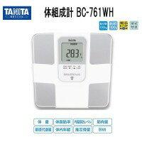タニタ 体組成計BC-761-WH (ホワイト)