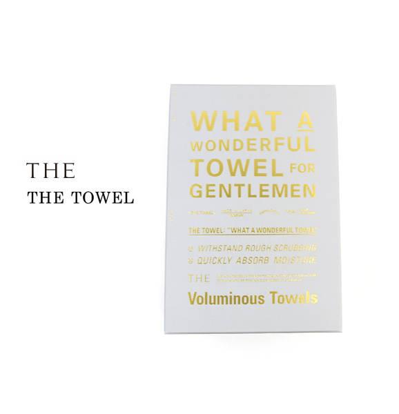 【ザ THE】スーピマコットン 麻 フェイスタオル THE FACE TOWEL for GENTLEMEN 箱入り・1301-0058-2831702【レディース】【1F-W】【last_1】