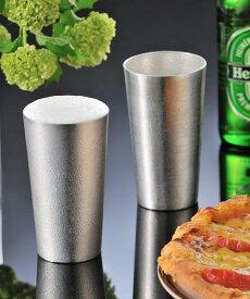 能作/NOUSAKU(ノウサク)錫製 ビアカップ コップ・BEERCUP-4702101【レディース】【1F-W】【■■】