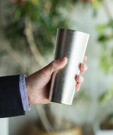 能作/NOUSAKU(ノウサク)錫製 ビアカップL コップ・BEERCUP-L-4702002【レディース】【1F-W】【■■】