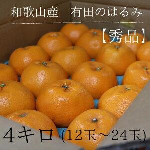 【産地直送】 和歌山県産 有田 はるみ 秀品 12〜24玉 わかやま ありだ