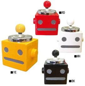 ロボタン回転灰皿【プッシュ式 フタ付き】【IQOS アイコス glo グローにも◎♪】