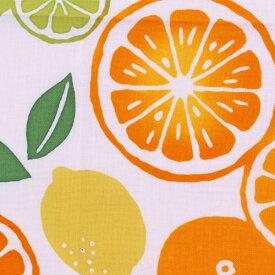 【3枚以上で送料無料】かまわぬてぬぐい「柑橘づくし」 かまわぬ 小紋柄 夏柄 生地 日本てぬぐい 手ぬぐい 日本 飾り 布 生地 包む メール便