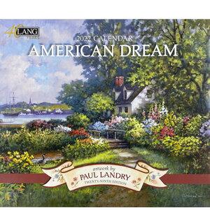 2022年ラングカレンダー「AMERICAN DREAM」lang LANG社 壁掛け 風景 海外 アメリカンドリーム