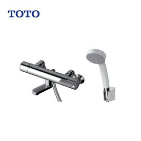 TOTO 浴室用 サーモスタット式シャワー水栓 TBV03445J コンフォートウェーブ(樹脂)シャワーヘッド 壁付 水栓金具