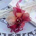 ★在庫処分★オーガンジー&シルクコサージュ5色★卒業式 卒園式 入学式 入園式 結婚式 和装 髪飾り 帯飾り ヘッドドレ…