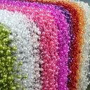 ★在庫処分★58m パールガーランド パールチェーン18色●装飾用しずくガーランド● パ ールチェーン 髪飾り 装飾用 造…