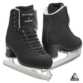フィギュアスケート スケート靴 JACKSON(ジャクソン) フリースタイル フュージョン ミラージュ セット 黒