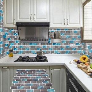 壁 シール タイル キッチン diy おしゃれ 壁紙 ステッカー 浴室 防水 オシャレ ウォールステッカー レンガ 3D 部屋 インテリア