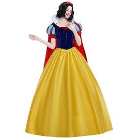 白雪姫 ドレス 大人 衣装 コスプレ プリンセス コスチューム レディース ハロウィン 衣装 コス 仮装 成人