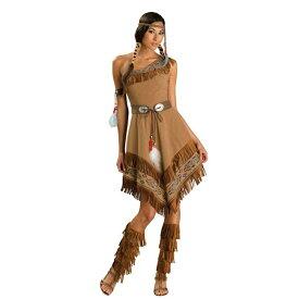 インディアン コスプレ レディース 原始人 コスチューム 女性 ハロウィン 原人 コス 衣装 仮装